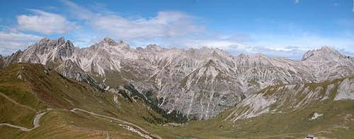 Lienz Dolomites from the...