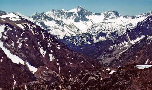 Mt. Crocker from McGee Mtn.