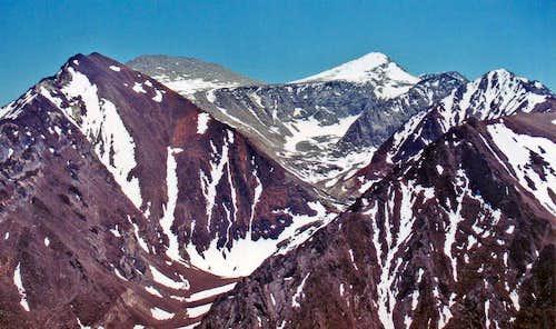 Nevabhe Ridge and Esha Canyon
