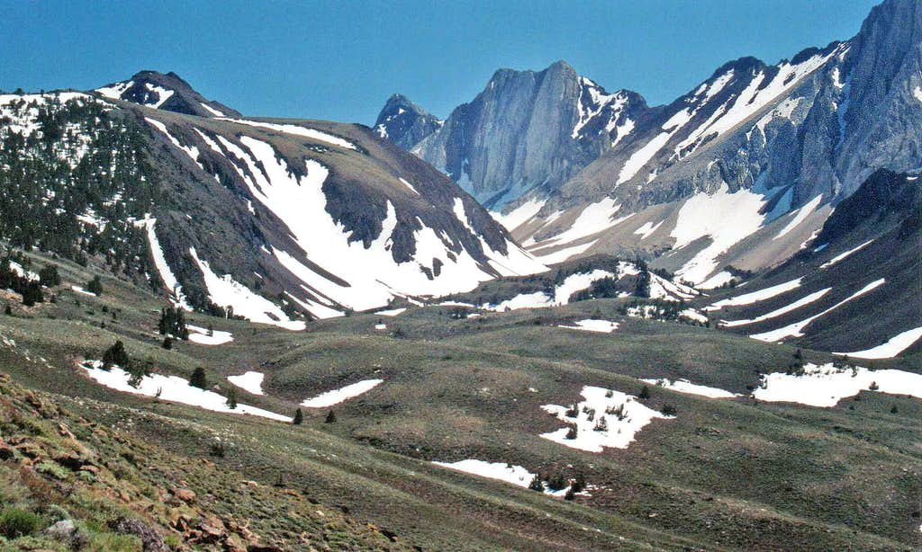Hanging Valley northwest of McGee Mtn.