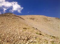 Talus slopes of WSP