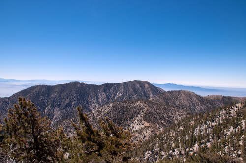View southeast from Telegraph Peak