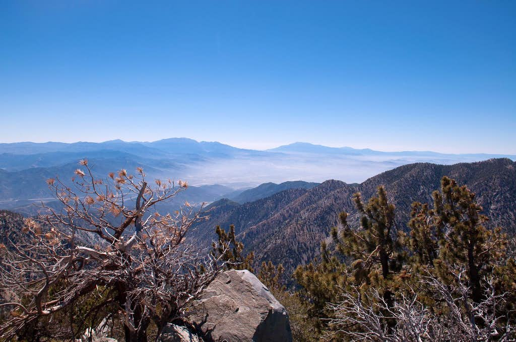 View east from Telegraph Peak