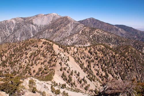 View west from Telegraph Peak