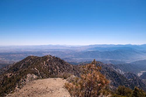 View north from Telegraph Peak