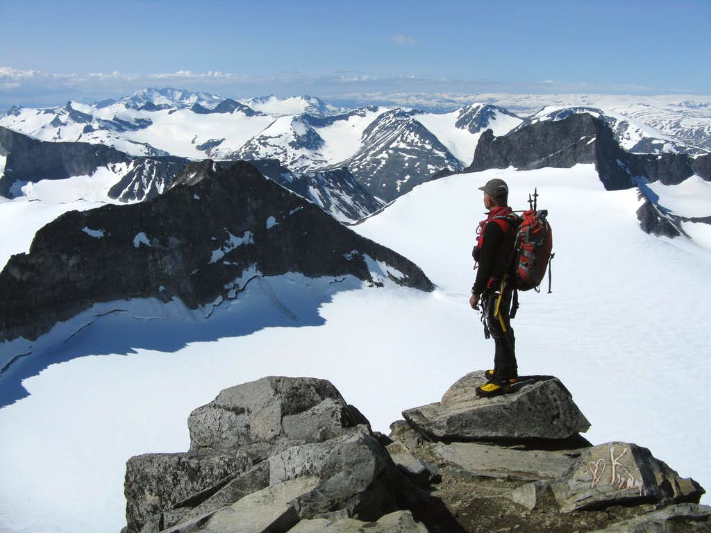 Summit of Galdhoppigen