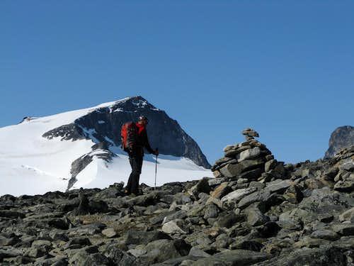 Styggebreen Glacier Route/Galdhøpiggen