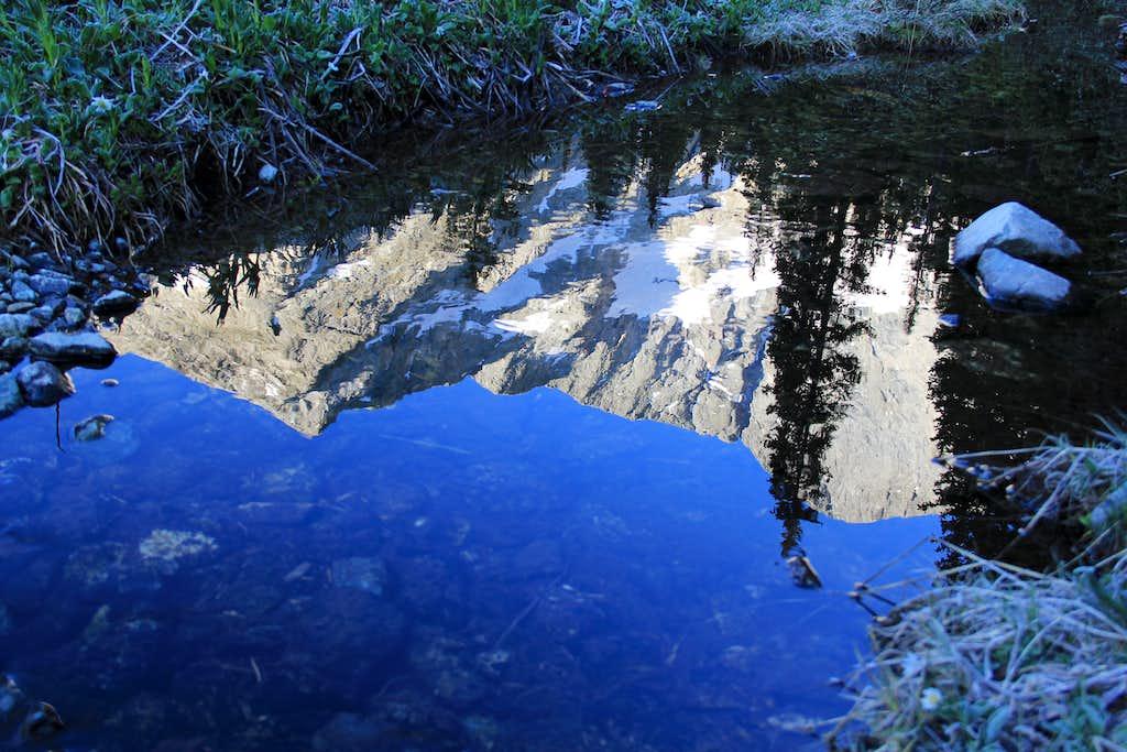 Gash Ridge, Blanca Peak Reflection
