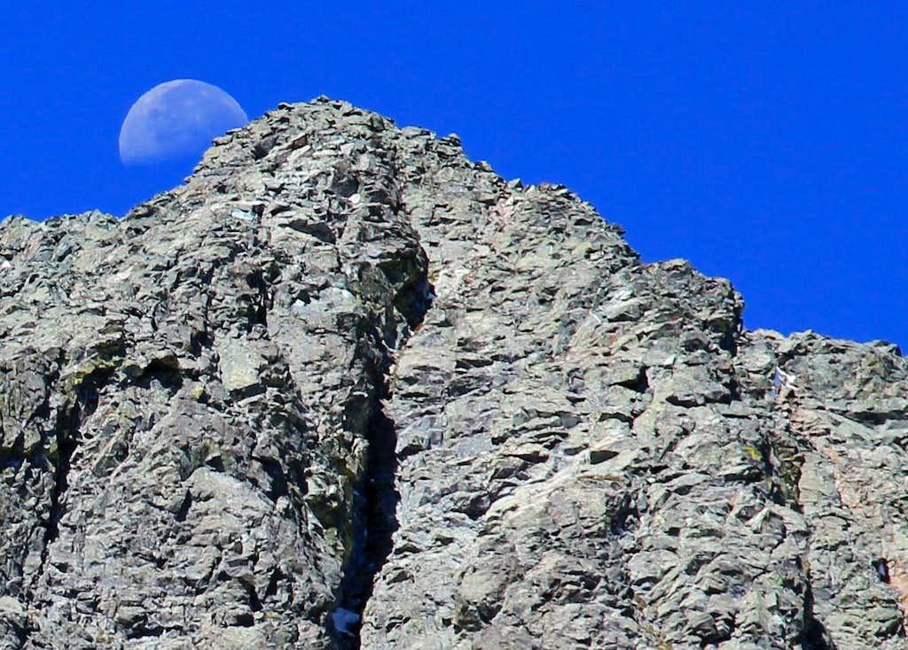 Blanca Peak from Gash Ridge