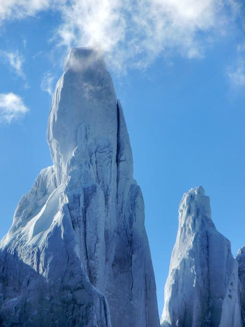 Cerro Torre Summit