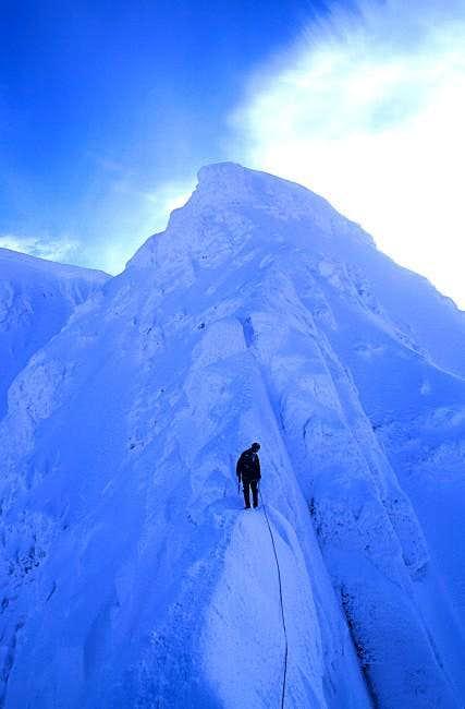 Tower Gap on Tower Ridge, Feb...