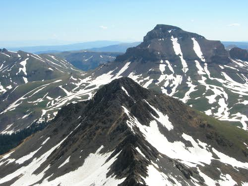 The Matterhorn and Uncompahgre Peak