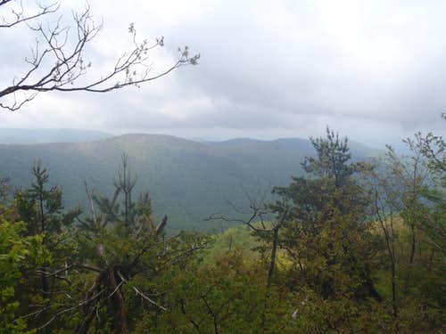 Views from sub-summit overlook