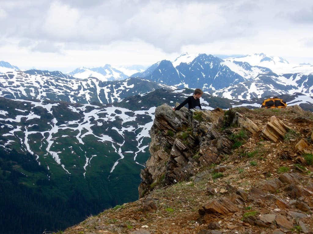 Mount Juneau summit