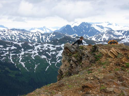 Mount Juneau summit