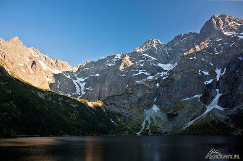 Evening at Morskie Oko