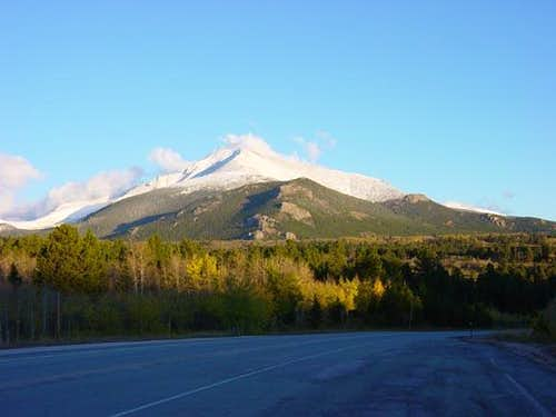 Mount Meeker/Meeker Ridge...