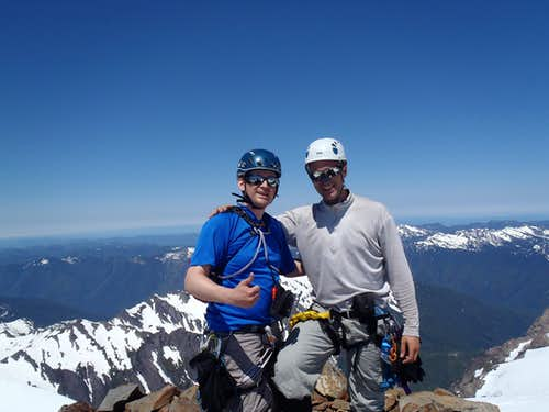Mount Olympus Summit Photo