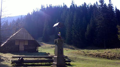 in Chocholowska Valley.
