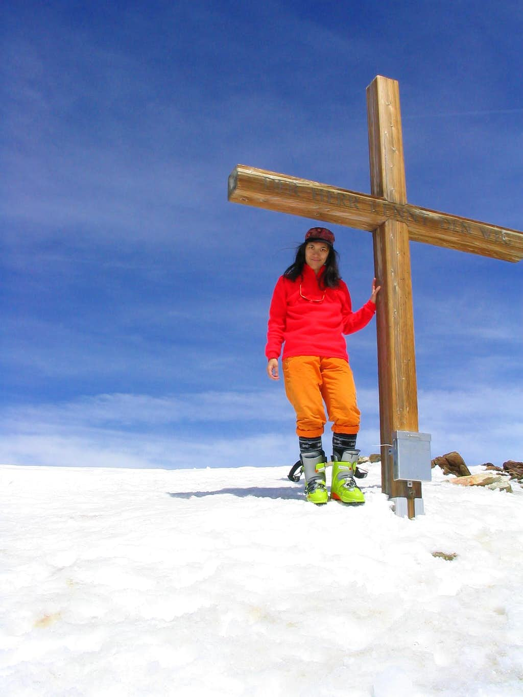 Summit cross of Sustenhorn