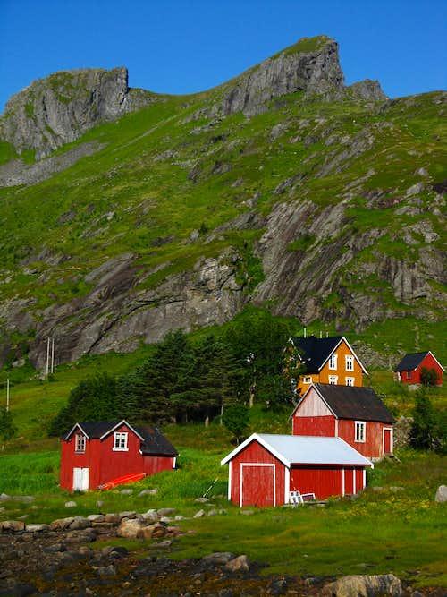 Vindstad rorbuers, Lofoten