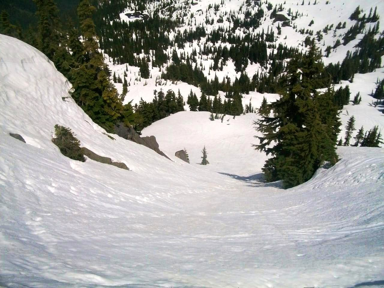 Yakima Peak North Gully