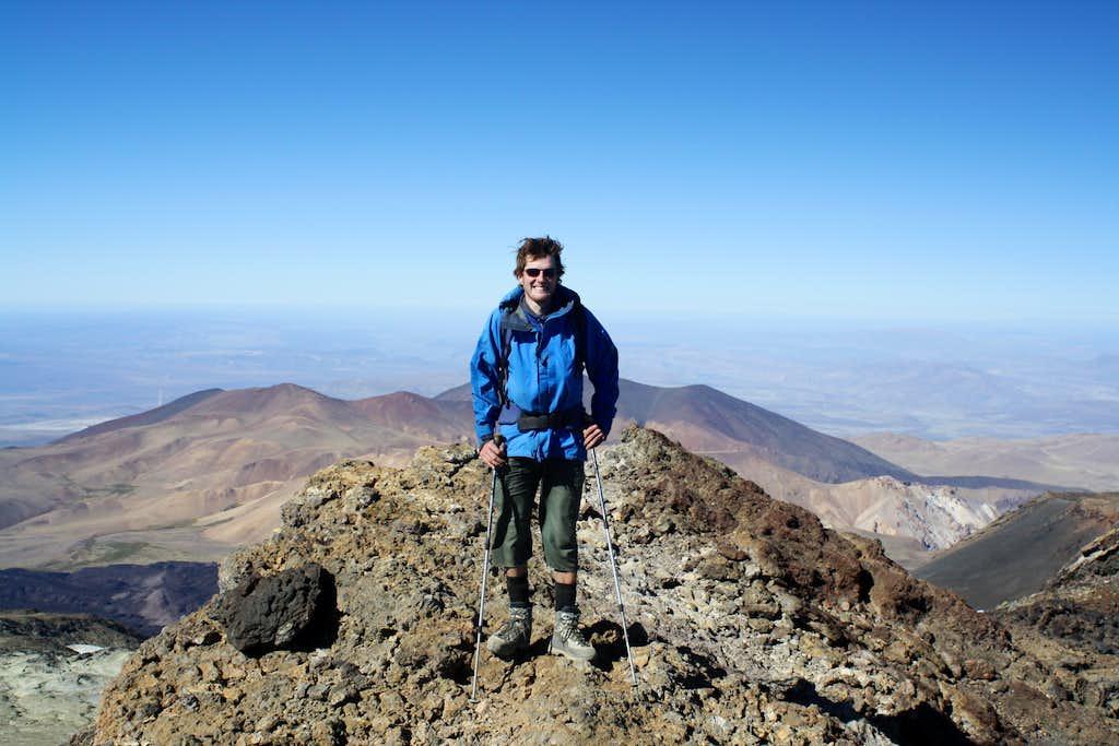 Volcan Tromen Summit