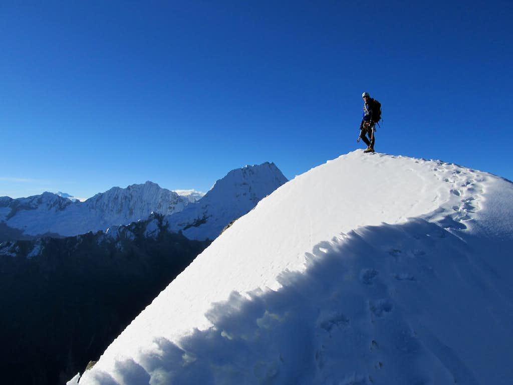 Summit of Churup