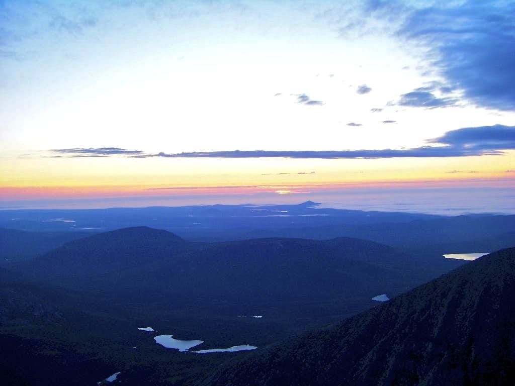 Mt. Katahdin Sunrise Climb (A Success)
