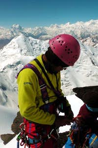Mirza Lead Climb