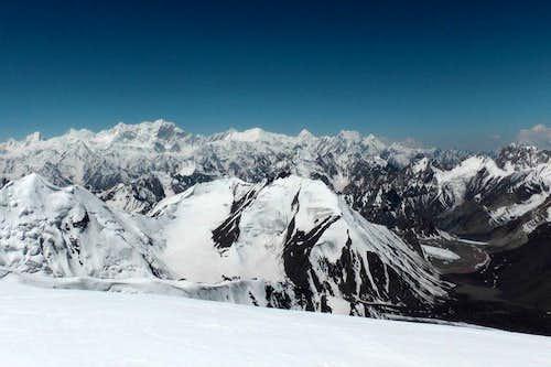 Mirza & Samina Baig on the summit