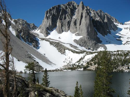 Temple Crag and Second Lake