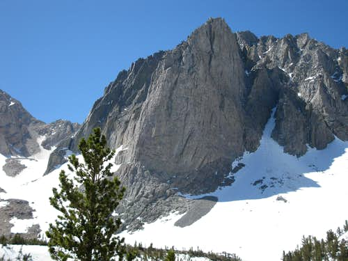 Temple Crag from Third Lake