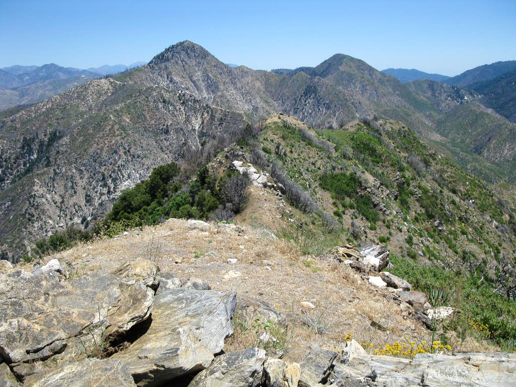 East from Josephine Peak