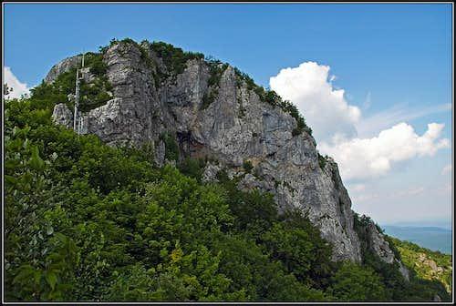The summit rocks of Klek