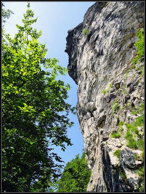 The W crags of Klek