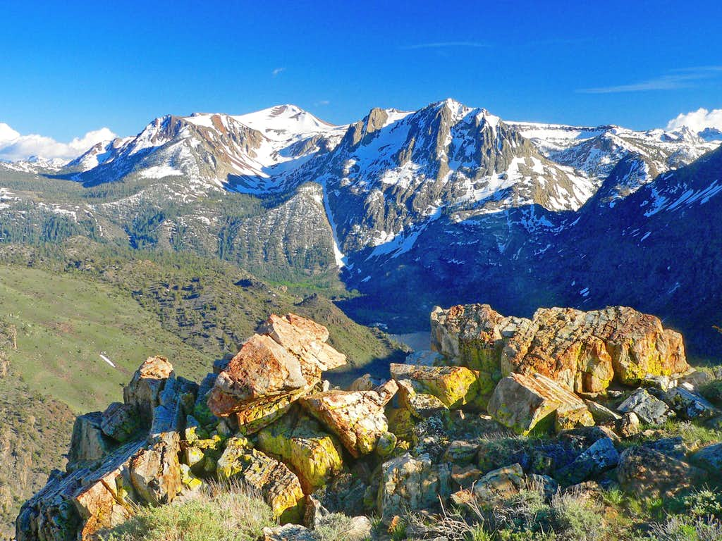 San Joaquin Mtn. and Carson Peak from Grant Point