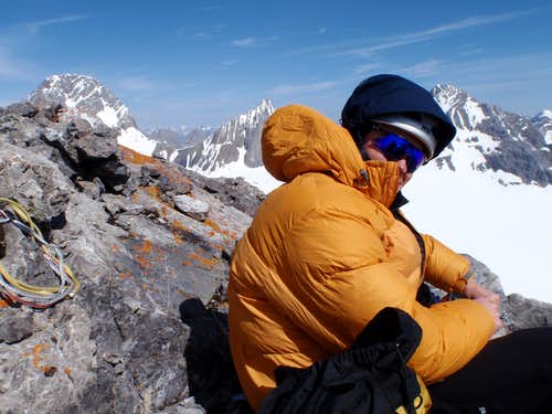Lunch on the Summit of Maude