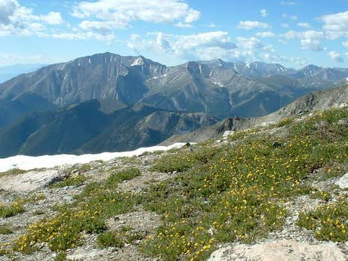 7/11/04: From Mount Yale's...