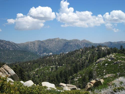 Peaks near Big Bear