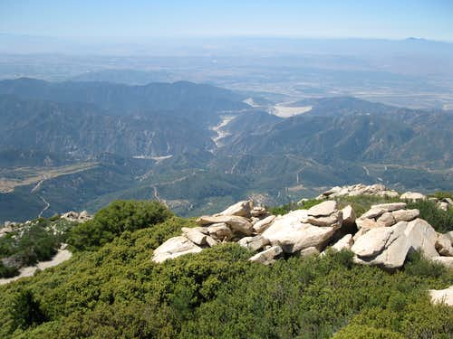 Santa Ana River from Keller Peak