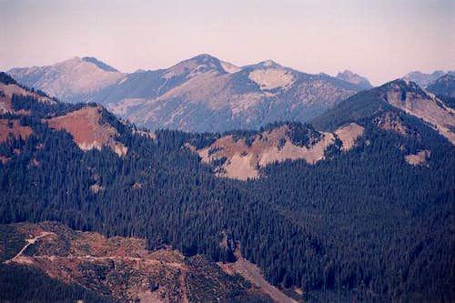 Revolution Peak at left & Mt....