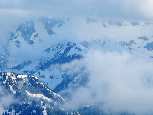 Cloud Cover over the North Cascades