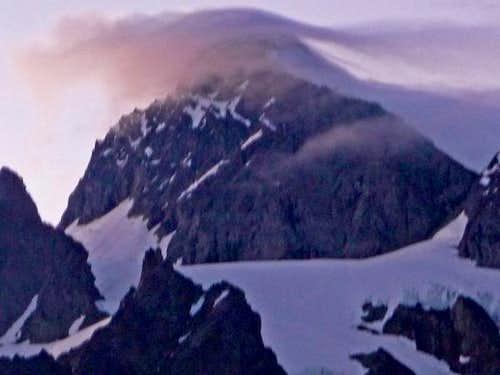 Lenticular Cloud over Mount Shuksan