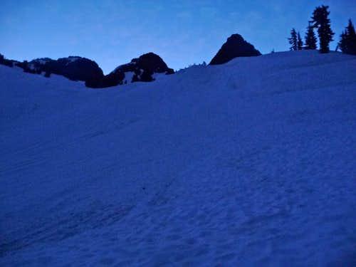 Mount Shuksan in the Morning