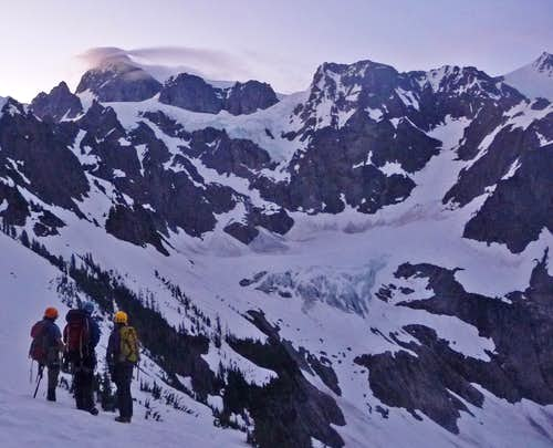Watching the Lenticulars Form on Mount Shuksan