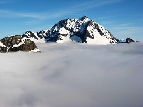 Jack Mt. above the clouds