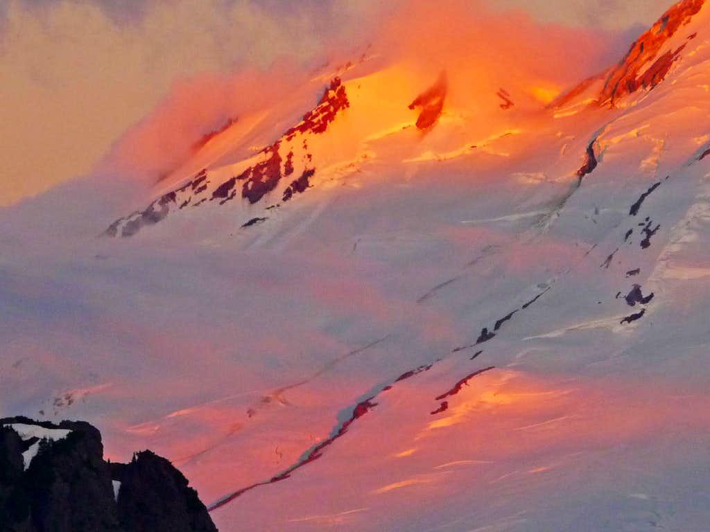 Sherman Peak during Sunrise