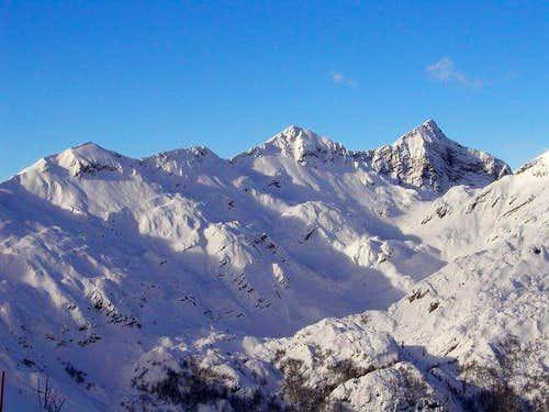 Mountains of South Bohinj...