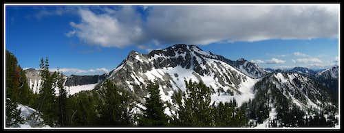 Cheops Peak...